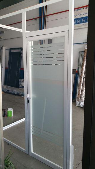 ventana puerta de aluminio