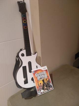 Juego Guitar Hero III + Guitarra
