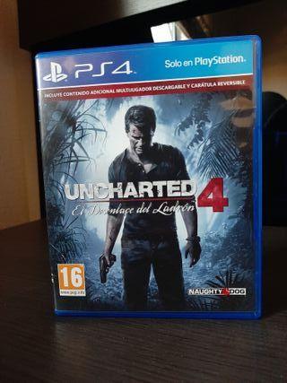 Uncharted 4 - Intercambio por juego Indie