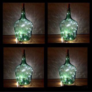 Liquidación damajuana lámparas