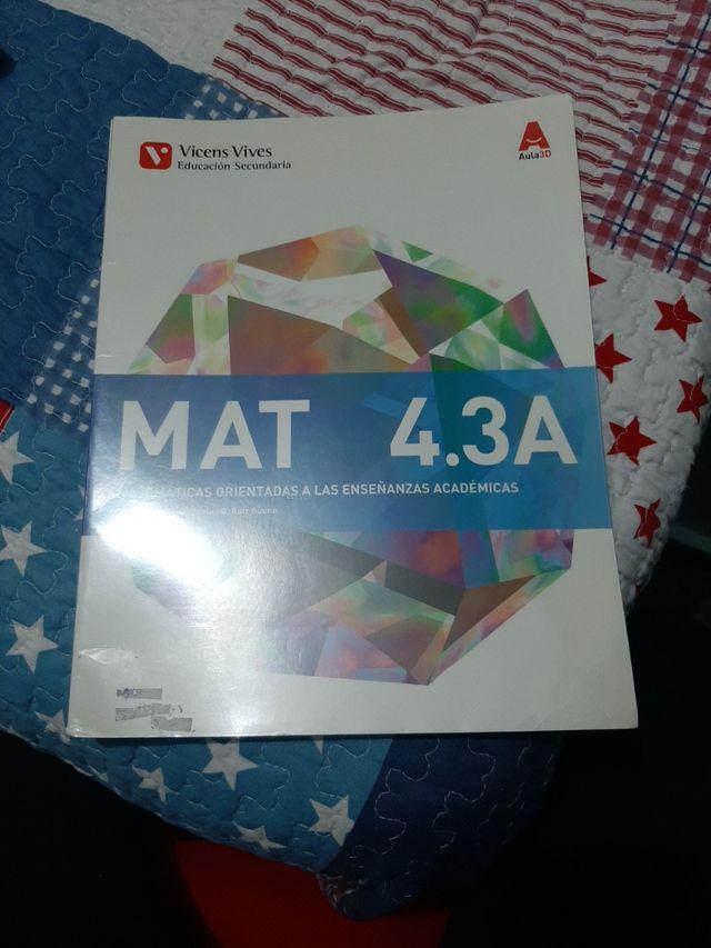 Matemáticas 4 Vicens Vives