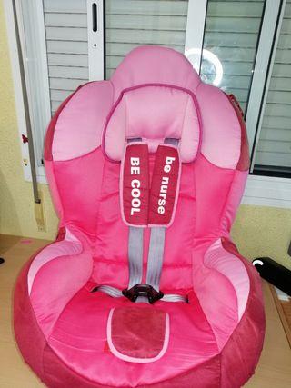 silla de coche de niña