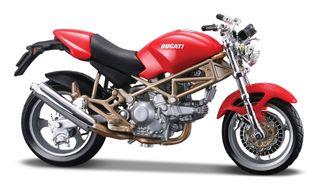 Ducati Monster 900 Moto escala metal 1:18 Bburago