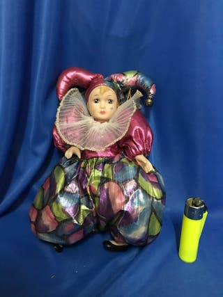 Muñeca Bufón de porcelana, Venecia