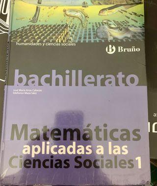Matemáticas asociadas a la Ciencias Sociales