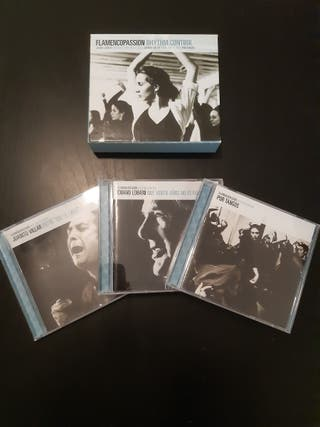 Caja CD'S Flamenco