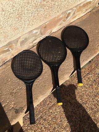 Raquetas plastico