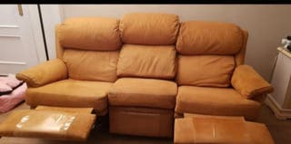sillón divisible sus plazas, muy comodo