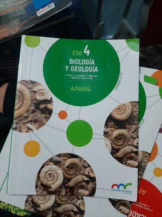 Biologia y geología 4 anaya