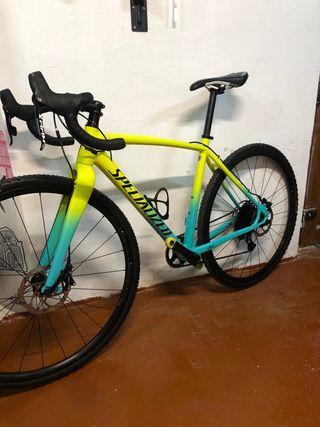 Bicicleta specialized crux e5 talla 49 aluminio