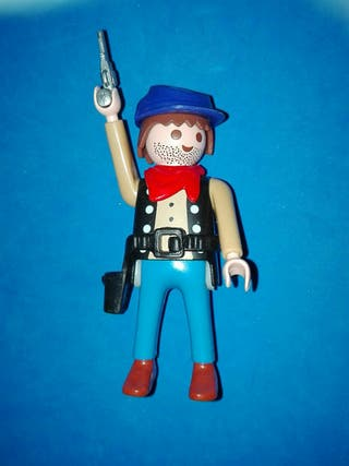 Numero 220 playmobil vaquero pistolero oeste