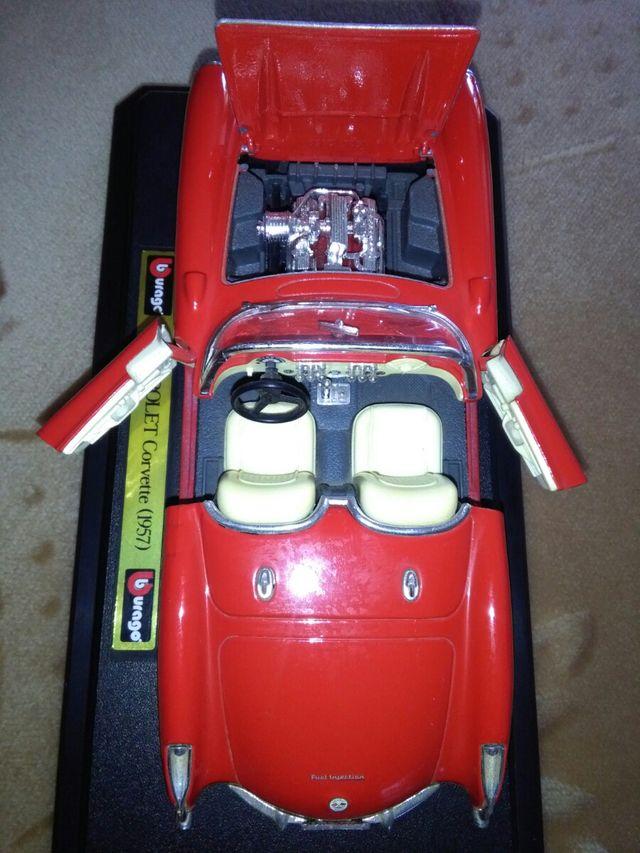Maqueta Chevrolet Corvette de 1.957