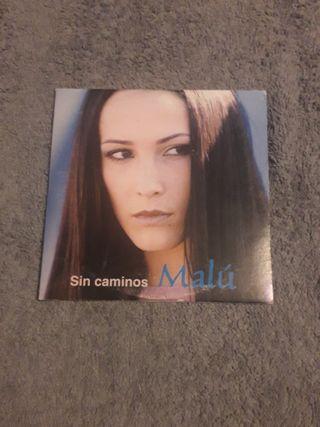 MALU CD single promocional SIN CAMINOS