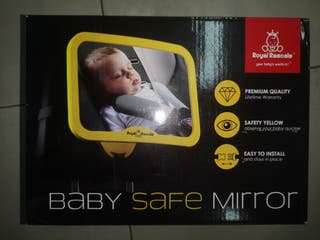 espejo vigila bebés retrovisor