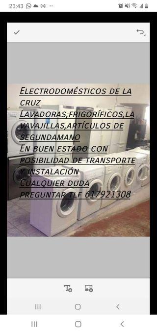 se venden lavadoras frigoríficos