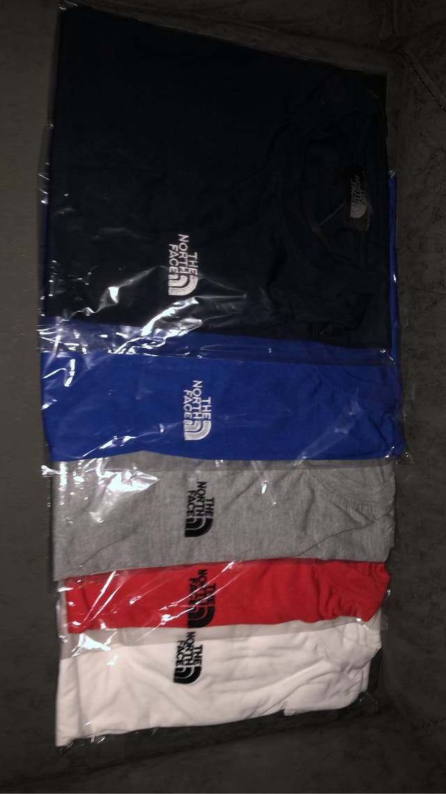 North face t shirts