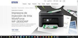 EPSON WorkForce WF-2830DWF. NUEVA SIN ESTRENAR
