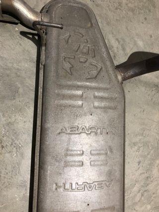 Escape original Abarth válido para Fiat 500