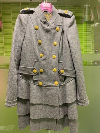 Abrigo gris HOLY preppy