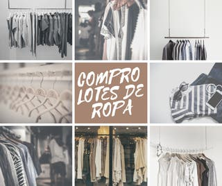 Lotes de ropa mujer