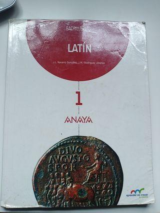Libro de Latín Bachillerato Anaya