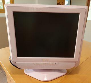 """Monitor 14"""" Rosa sirve de tele"""