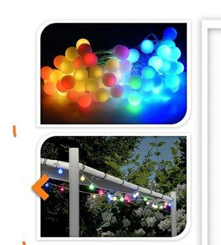Guirnalda de luces de colores