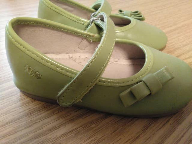 Merceditas verde lima, Mayoral, talla 21