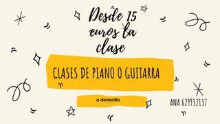 clases de piano o guitarra