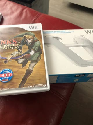 Juego Link's Crossbow Training + Wii Zapper