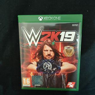 W 2K19 Xbox One