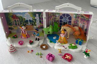 Cofre Playmobil princesas