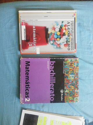 Libros Matemáticas Bachillerato