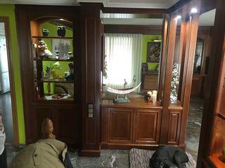 Muebles salón madera cerezo