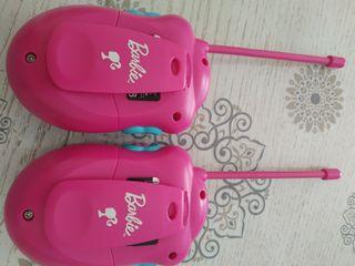 Walkie Talkie de Barbie. 2 unidades