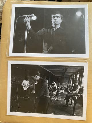Lote 2 posters Joy Division