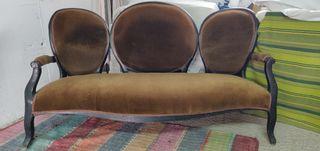 sofá isabelino restaurar