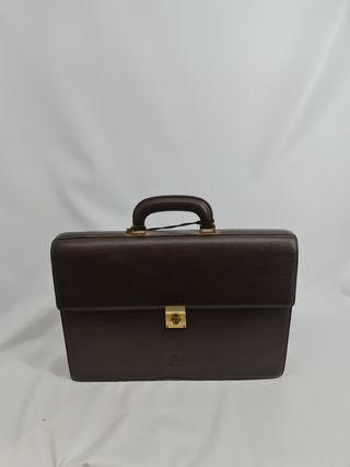 maletín de loewe cuero
