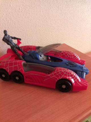 coche Spiderman 3 en 1