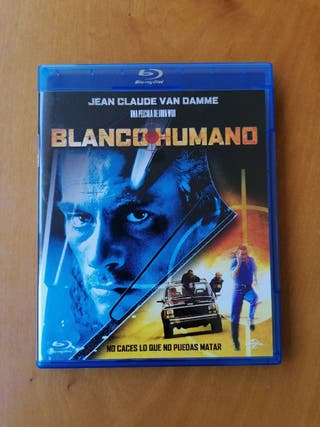 blanco humano Jean Claude van Damme bluray
