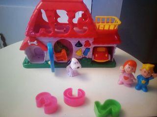 Casita interactiva infantil juguete