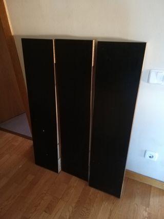 Lack estante Ikea negro/marrón