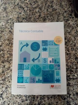 libro técnica contable grado medio administracion