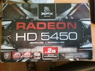Tarjeta gráfica Radeon HD 5450