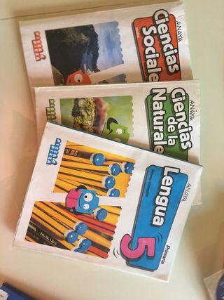 Libros 5 primaria Anaya