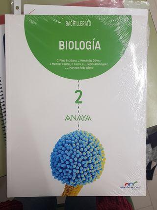 LIBRO BIOLOGIA SEGUNDO DE BACHILLERATO ANAYA