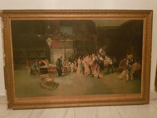 cuadro antiguo La Vicaría, de Fortuni