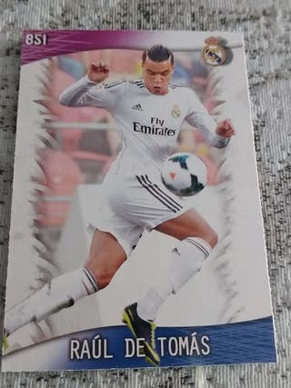 Raúl de Tomás real Madrid rookie