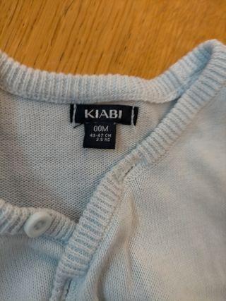 chaqueta de punto para recién nacido