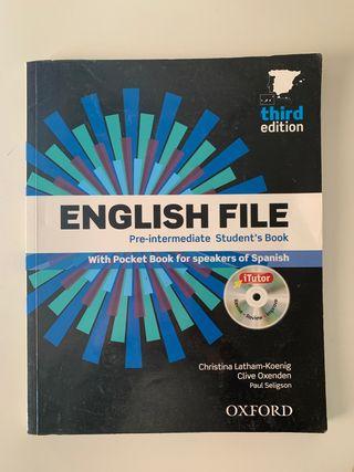 Libro inglés ENGLISH FILE